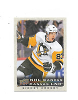 2020-21 UD Tim Hortons NHL Canvas #C15 Sidney Crosby Pittsburgh Penguins