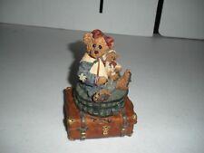 Boyd's Bears Music Box Plays Let Me Be Your Teddy Bear 1994-1996