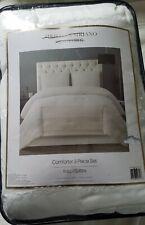 Christian Siriano New York Full/Queen Ivory comforter Set New