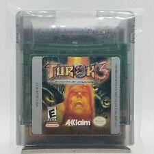 Turok 3: Shadow of Oblivion (Nintendo Game Boy Color, 2000) LOOSE TESTED WORKING