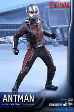 1/6 Scale Captain America Civil War Movie Masterpiece Ant-Man Hot Toys
