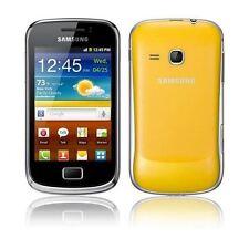 Samsung Galaxy Mini 2 GT-S6500 - Teléfono inteligente amarillo (Desbloqueado) - Grado B