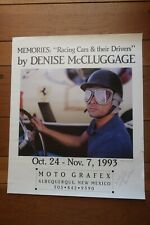 Denis McCluggage signed Phil Hill poster