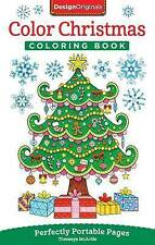 Color Christmas Coloring Book: Perfectly Portable Pages (On-The-Go Coloring Book