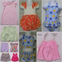 BOUTIQUE CLOSE OUT GIRL'S SIZE 12 MONTHS CLOTHING LOT SHORTS DRESSES SWIM 10 PC