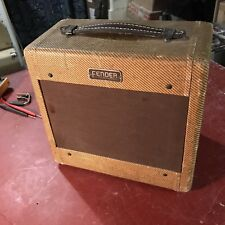 Original 1953 Fender 600 Amp Pre Champ Tweed Champion Fullerton Pre CBS