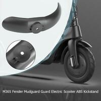 M365 Fender Mudguard Guard Electric Scooter Skateboard ABS Tire Kickstand 1pcs