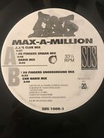 "Max-A-Million Fat Boy Vinyl Record 90s House Music 20 Fingers Remix DJ 12"""
