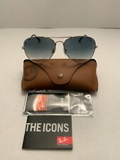 Ray-Ban Aviator Sunglasses RB3026 62mm 003/32 Silver Frame & Gray Gradient Lens