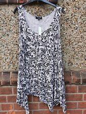 Newlook Ladies Longline Sleeveless Top Size 20