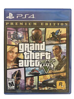 Grand Theft Auto V Premium Edition GTA 5 PS4 (Sony PlayStation 4)