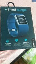 Fitbit Surge Wireless Fitness Activity Tracker, small - Blue