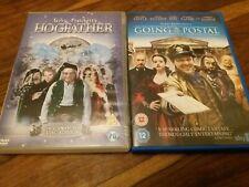 Rare Terry Pratchett UK DVD Collection Mint - Going Postal 2010 & Hogfather 2006
