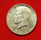 Amerika-USA Half Dollar Kennedy1966 P Silber #F4628 BU KM#202 gildet veredelt