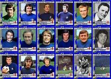 Chelsea 1971 European Cup Winners Cup final winners football trading cards