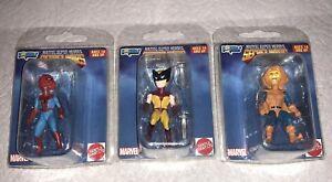 Marvel Secret Wars Spider-Man Wolverine Hobgoblin Super Heroes Micro Bobbles NEW
