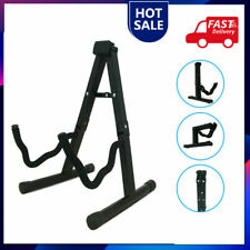 More details for protable black steel stand adjustable folding cello stand for 1/8 - 4/4 cellos