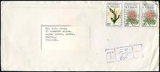 Trinidad & Tobago 1986 QEII Taxe Mark, Postage Due Cover To UK #C16647