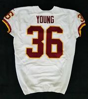 #36 Darrel Young of Washington Redskins NFL Game Issued Jersey