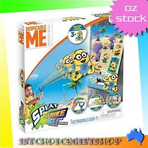 CLEARANCE SALE Despicable Me Splat Strike Target Pack