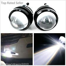 2 Pcs 12-24V Fisheye LED 5W Cree Car SUV Daytime Driving Lights Fog Lamps White