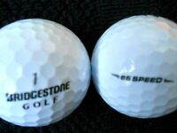 "10 BRIDGESTONE  ""E6 SPEED"" - 3 PIECE Golf Balls - ""PEARL/A"""