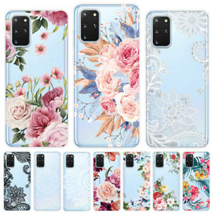 Slim Painted Clear Case Silicone Phone Cover For Samsung S21+ S20 FE A51 A71 A12