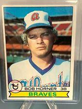 1979 Topps Bob Horner Rookie 586 -$1.00 Shipping