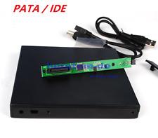 External USB Enclosure Case Tray für 12.7mm PATA IDE Laptop Caddy Load DVD drive