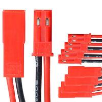 BEC JST Steckverbinder Stecker Buchse mit Kabel AWG 20 5 Paar partCore 140010