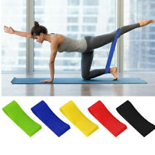 5x Physical Therapy Exercise Resistance Loop Bands Stretch Strength for Fitness