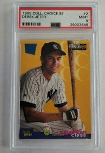 Derek Jeter 1995 Collectors Choice SE PSA 9 MINT #2 - New York Yankees
