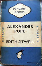 Alexander Pope - Edith Sitwell; Paperback book (Penguin 1948)