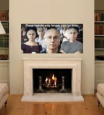 CURB YOUR ENTHUSIASM HBO COMEDY TELEVISION TV GIANT ART POSTER X310