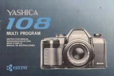 YASHICA - 108 - Instruction Manual Bedienungsanleitung für Kamera - B3956