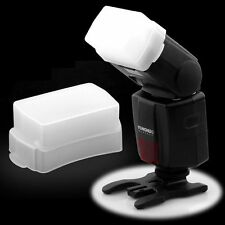 Soft Cap Box Bounce Flash Diffuser for Canon Speedlite 580EX II YONGNUO YN560 US