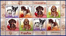 2017. Belarus. Children philately. Рuppies. M/sheet. MNH