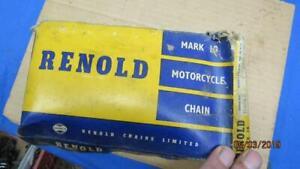 NOS Renold Chain # 110 046 x 116 Links  Zundapp Bella Ossa 175 MV350 Honda B1186