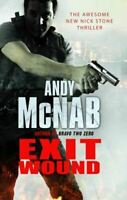 McNab, Andy, Exit Wound: (Nick Stone Book 12), Like New, Hardcover