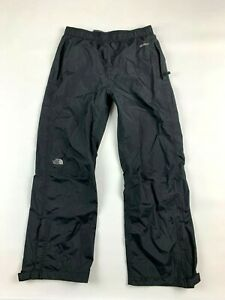 The North Face Hyvent Resolve Boys Pants L 14 16 Black Waterproof Mesh Lined