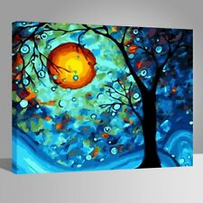 Diy oil painting paint by numbers kits for adult kids - Dream Tree by Van Gogh