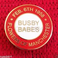 United Badge Selection Munich 60th Anniversary 1958 Flowers of Manchester Gift