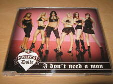 "PUSSYCAT DOLLS "" I DON'T NEED A MAN "" CD SINGLE 2 TRACK - EXCELLENT"