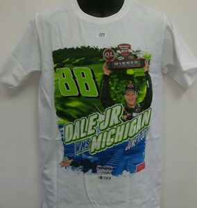 Dale Earnhardt Jr. Michigan Win Chase Authentic's T- Shirt  Adult Medium # 88