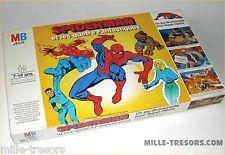 RARE Jeu SPIDERMAN et les 4 fantastiques - Jeu de poursuite pour Super-Héros