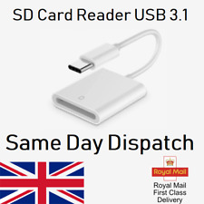 USB 3.1 Type C USB-C Micro to SD Card Reader Adapter For Android