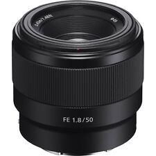 Sony Alpha E-Mount FE 50mm f/1.8 F1.8 Prime Lens