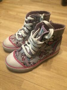 My Little Pony Stride Rite Lace Ups Girls 9.5