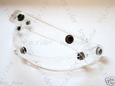 Flip up base Attachment For Helmet Shield Visor Clear Color