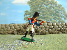 Vintage Airfix French grenadier standing firing 1:32 painted